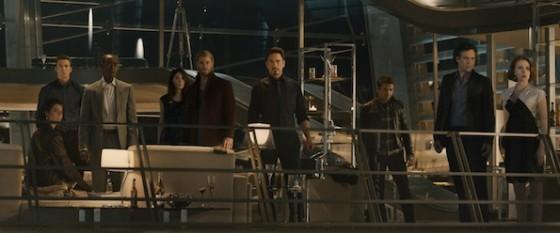 Les Vengeurs dans Avengers - L'Ere d'Ultron