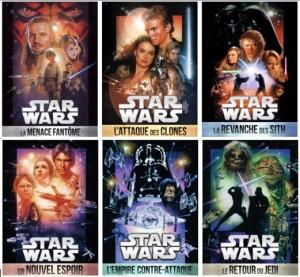 Saga Star Wars - les affiches