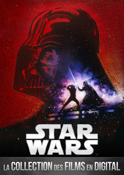 Saga Star Wars disponible en digital - affiche