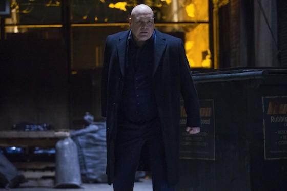 Vincent d'Onofrio (Wilson Fisk) dans Daredevil diffusée sur Netflix