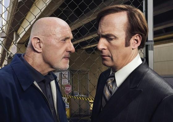 Bob Odenkirk et Jonathan Banks dans Better Call Saul sur AMC