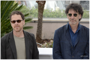 Ethan et Joel Coen / Photo Philippe Prost pour CineChronicle