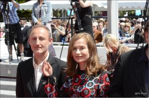 Guillaume Nicloux et Isabelle Huppert