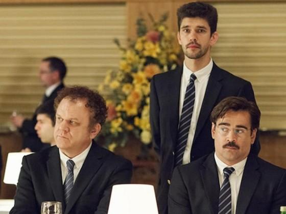 John C Reilly, Ben Wishaw et Colin Farrell The Lobster de Yorgos Lanthimos