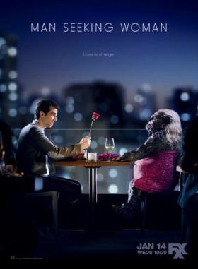 Man Seeking Woman - affiche