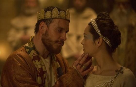 Michael Fassbender et Marion Cotillard dans Macbeth
