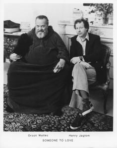 Orson Welles et Henry Jaglom / Courtesy Wichita Films