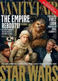 Star Wars 7 - couverture Vanity Fair