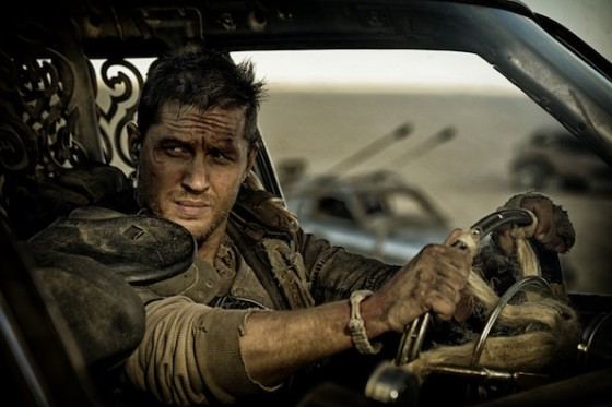 Tom Hardy dans Mad Max Fury Road de George Miller