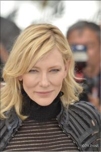 Cate Blanchett / © Philippe Prost, photographe pour CineChronicle au 68e Festival de Cannes