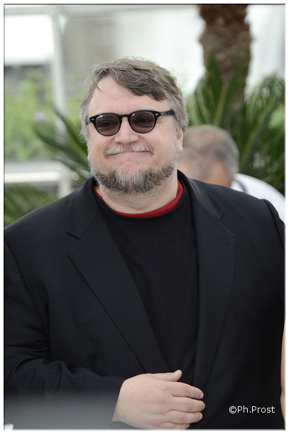 Guillermo del Toro - Photo Philippe Prost pour CineChronicle au Festival de Cannes 2015