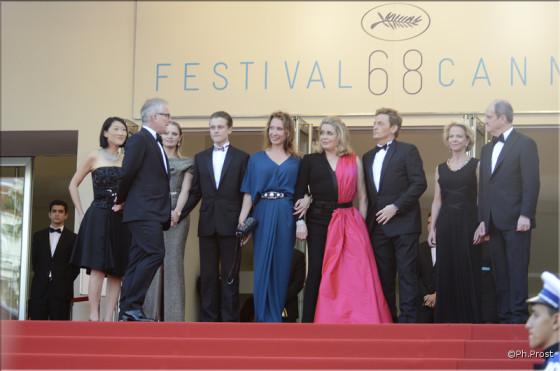 L'equipe de La Tête Haute - Photo Philippe Prost pour CineChronicle