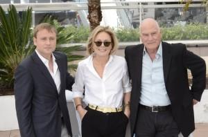 Max Rielmet, Marthe Keller, Barbet Schroeder pour Amnesia