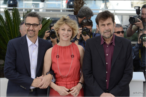 John Turturro, Margherita Buy et Nanni Moretti pour Mia Madre