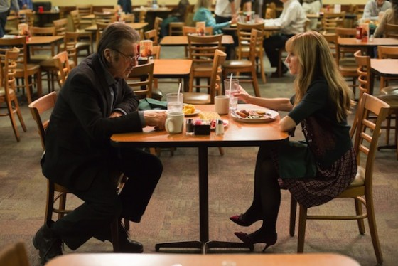 Al Pacino et Holly Hunter dans Manglehorn de David Gordon Green