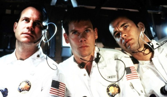 Bill Paxton, Kevin Bacon, Tom Hanks dans Apollo 13 de Ron Howard