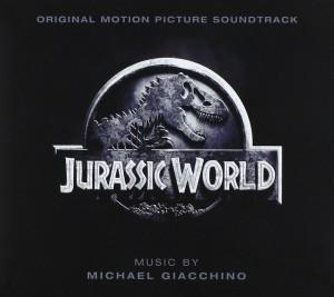 CD musique Jurassic World par Michael Giacchino
