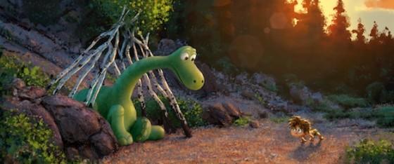 Concept Art Le Voyage d'Arlo (The Good dinosaur)