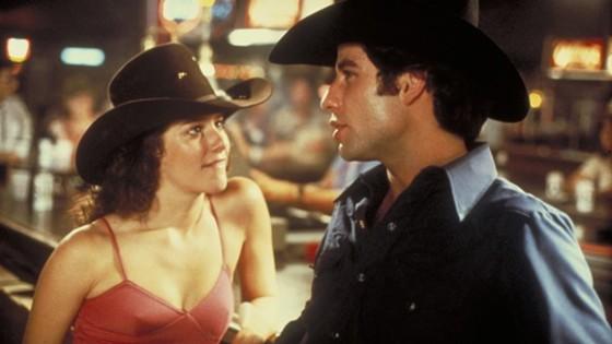Debra Winger et John Travolta dans Urban Cowboy