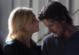 Cate Blanchett et Christian Bale dans Knight of Cups de Terrence Malick