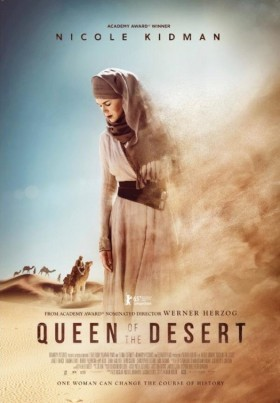 Queen of the Desert de Werner Herzog - affiche