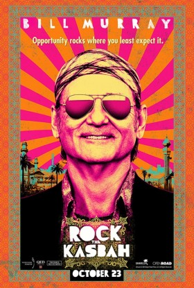 Rock the Kasbah avec Bill Murray - affiche