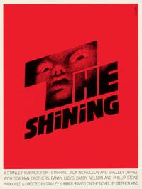 Poster Shining par Saul Bass
