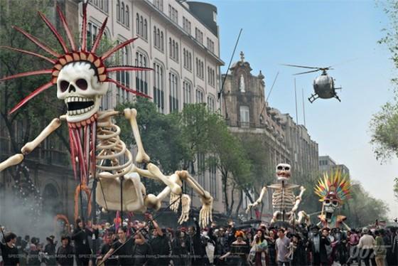 Spectre - tournage Video Blog 4 - Le jour des Morts à Mexico