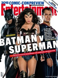 Batman, Wonder Woman et Superman - Entertainment Weekly