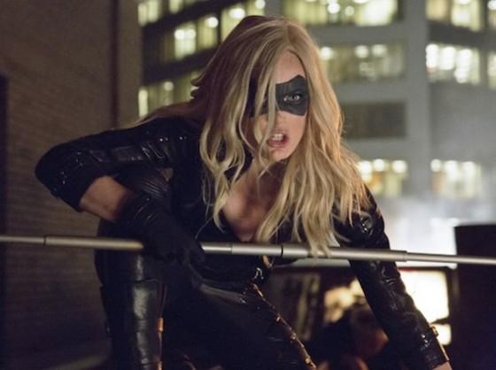 Caity Lotz est Black Canary dans Arrow sur The CW