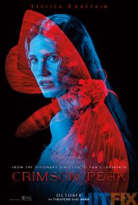 Jessica Chastain dans Crimson Peak