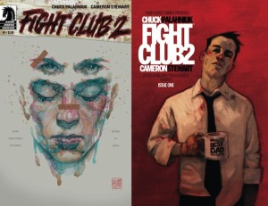 Fight Club 2 de Chuck Palahniuk / Issue #1 cover by David Mack; variant by Chip Zdarsk via The Verge