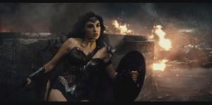 Gal Gadot (Wonder Woman) dans Batman v Superman