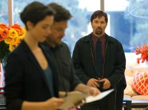 Joel Edgerton, Jason Bateman et rebecca Hall dans The Gift