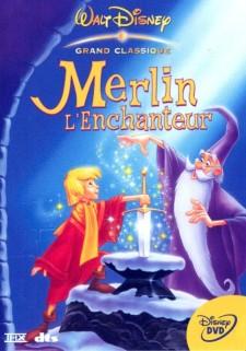Merlin L'Enchanteur - jaquette Disney