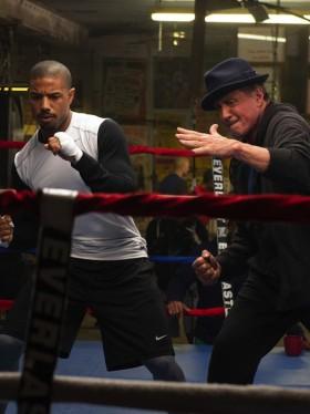Michael B Jordan et Sylvester Stallone dans Creed de Ryan Coogler
