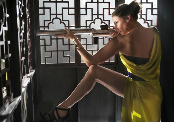 Rebecca Ferguson dans Mission Impossible 5 - Rogue Nation
