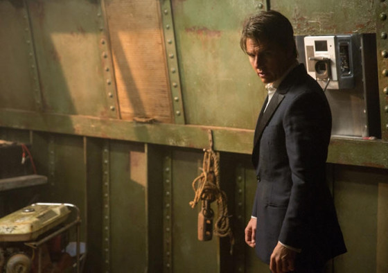 Tom Cruise dans Mission Impossible 5 - Rogue Nation