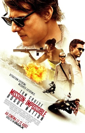 Mission Impossible Rogue Nation - poster