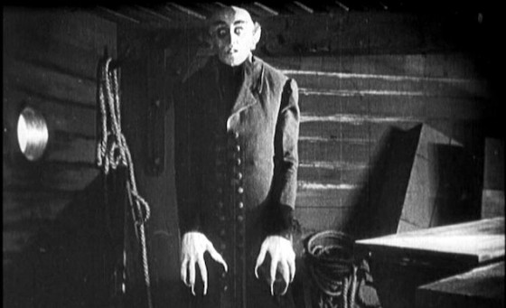 Nosferatu le vampire de Friedrich Wilhem Murnau (1922)
