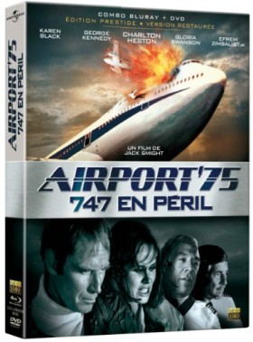 Aiport 75 - 747 en Peril - jaquette