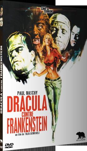 Dracula contre Frankenstein de Tulio Demicheli - poster
