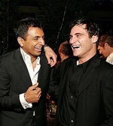 Joaquin Phoenix et M. Night Shyamalan