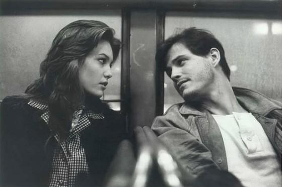 Michael Pare et Diane Lane dans Les Rues de Feu (Streets of Fire) de Walter Hill