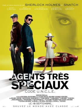 Agents très spéciaux Code U.N.C.L.E - affiche