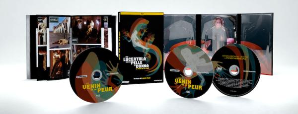 Combo DVD-Blu-ray Le Venin de la Peur (Una lucertola con la pelle di donna) de Lucio Fulci - Le Chat qui fume