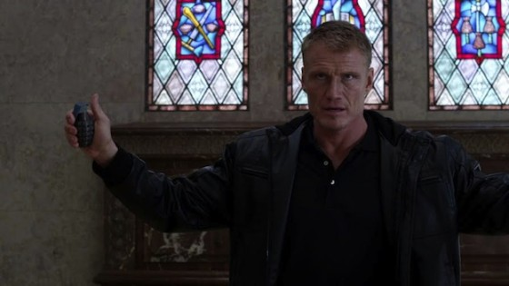 Dolph Lundgren dans Blood of Redemption