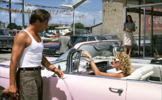 Don Johnson, Virginia Madsen et Jennifer Connelly dans Hot Spot de Dennis Hopper