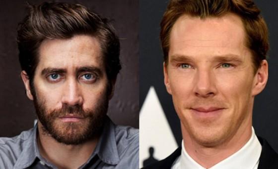 Jake Gyllenhaal et Benedict Cumberbatch
