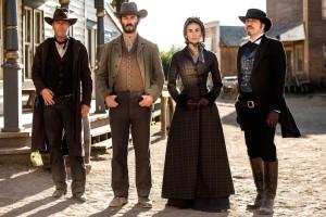 Kiefer Sutherland, Demi Moore et Michael Wincott dans Forsaken